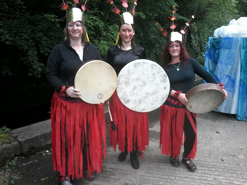 Oxana, Sarah, Sandy handmade