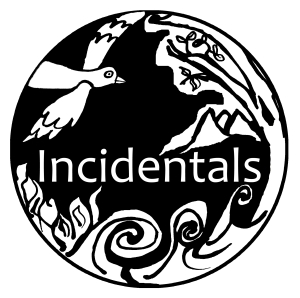 Incidentals logo by Rachel Johns