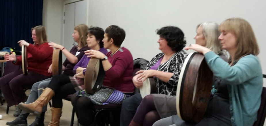 Incidentals teach member of Women's Institute Hebden Bridge